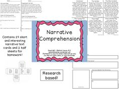 Narrative Packet Preview