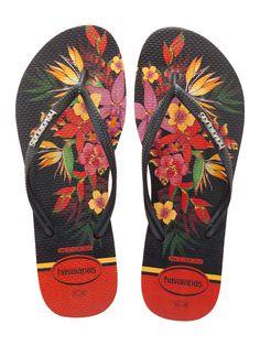 c9d2018afbdd4d Havaianas Women`s Flip Flops Slim Tropical Pumpkin Sexy Sandals Any Size NWT