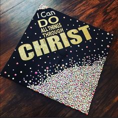 Bling Graduation Cap This isn't for sale but I can do any bling cap or accessory. (Example of my work) Christian Louboutin Accessories Nursing Graduation, High School Graduation, College Graduation, Graduate School, Graduation Gifts, Graduation Ideas, Graduation Quotes, Graduation Announcements, Graduation Invitations