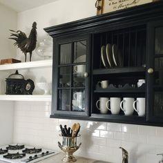 Kitchens Yellow Kitchen Inspiration, Kitchen Wall Cabinets, China Cabinet, Bathroom Medicine Cabinet, Kitchens, Storage, Heart, Furniture, Home Decor