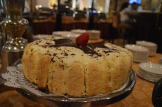 One of many delicious cake options at Brunch in Di Valletta
