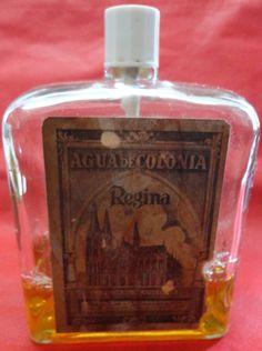 Embalagem Antiga De Perfume Água De Colônia Regina - A16 - R$ 95,00 no MercadoLivre