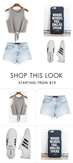 """""""Untitled #218"""" by tori-k-meow on Polyvore featuring Alexander Wang and adidas"""