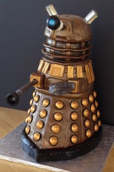 Dalek Cake. It's all good once you get past the armor plating.
