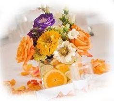 Matrimonio a tema: nozze in arancio a tema inverno...