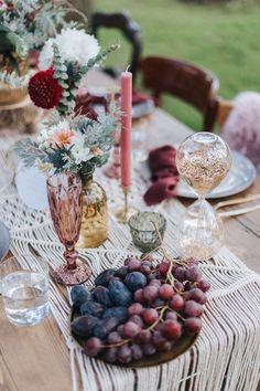 Boho Brautkleid Zweiteiler Vintage Hochzeitskleid Hochzeitsdekoration Boho