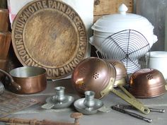 MY FRENCH COUNTRY BROCANTE: useful items