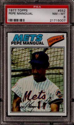 1977 Topps Pepe Mangual Card