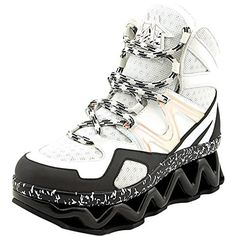 Marc  by  Marc  Jacobs  womens  ninja  sneakers  off  white black