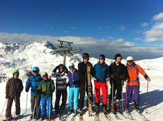 #Twitski Team @heiligenblut #Austria #Carinthia