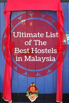Ultimate List of The Best Hostels in Malaysia Want to have your travel paid for… Kuala Lumpur, Best Hiking Food, Budget Travel, Travel Tips, Travel Ideas, Malaysia Travel Guide, Malaysia Trip, Penang, Bali