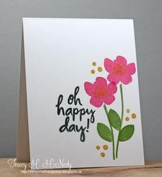 tracey_april_pin-sights - Floral - all occasion - one layer card - CAS
