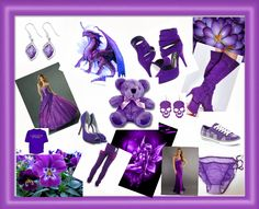 A purple montage for purple lovers :)