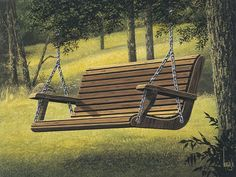 Front Porch Swing Plans | Plan #002D-0015 Porch Swing - House Plans and More