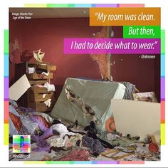 It WAS clean. #clean #room #fashion #heellelujah #mess #decisions #life #quotes Martin Parr, Clean Clean, My Room, Life Quotes, Cleaning, Instagram Posts, Fun, Home Decor, Fashion