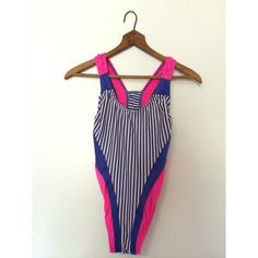 Vintage ILGWU Striped Swimsuit  from damsel in distressed