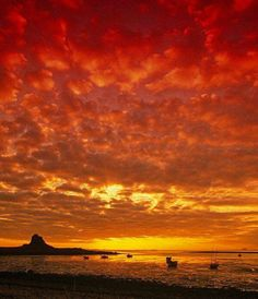 Early morning at Lindisfarne! Thanks to Graeme Peacock for this photo. Native American Proverb, Sky Sea, How Beautiful, Beautiful Things, Ireland Travel, Just Amazing, Planet Earth, Places To See, Sunrise