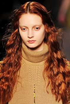 7 Days of Gorgeous Fall Hair | Flare.com #red #long #hair
