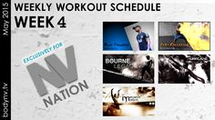 NV Nation, – the workout schedule : Weekly Workout Schedule, Fitness Diet, Fun Workouts, How To Plan, Motivation, Inspiration