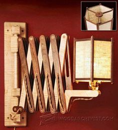 Image result for swing out jewelry box fine woodworking
