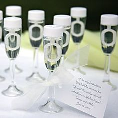 burbujas en copa