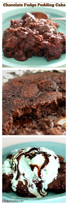 Chocolate Fudge Pudding Cake {Chocolate Heaven} via @https://www.pinterest.com/BaknChocolaTess/