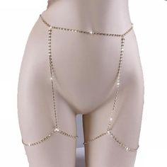 Sexy Women Shiny Crystal Rhinestone Bra Chest Body Chains Bikini Breast Brassiere Legging Jewelry Fashion Jewelry 11 styles to c Jóias Body Chains, Belly Chains, Rhinestone Bra, Leg Chain, Multiple Earrings, Body Chain Jewelry, Diy Body Chain, Body Chain Outfit, Body Jewelry Bikini