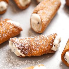 Homemade cannoli from scratch! The perfect kitchen project for you and your loved one.
