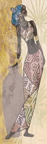 Ethnic Woman 2 Lámina por Alonzo Saunders en AllPosters.es