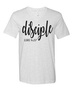 Christian Clothing, Christian Shirts, Vinyl Shirts, Women's Shirts, Jesus Shirts, Cristiano, Cute Tshirts, Printed Shirts, Shirt Designs