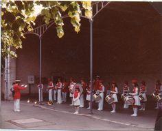 L'union musicale de Souppes-sur-Loing (77) en 1982 - Directeur : Dominique Boissy