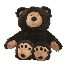 Baby Beary Bear - Microwaveable warm-up stuffed bear - soothes and comforts.