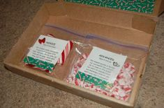 Gag Gift: candy cane puzzle. Great for those Low budget gift exchanges