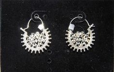 Stunning Sterling Silver Filigree Earrings BB20