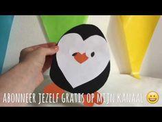 DIY PINGUïN VAN PAPIER KNUTSELEN voor kinderen / DOE HET ZELF IDEEEN | Diy & life Mama - Nederlands - YouTube