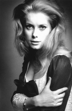 By Jeanloup Sieff, Catherine Deneuve.