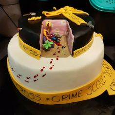 If it's your special day today - wishing you a happy crime filled birthday.  #birthday #birthdaycake #special #party #darkstories Dark Stories, Special Day, Crime, Birthday Cake, Party, Desserts, Food, Humor, Tailgate Desserts