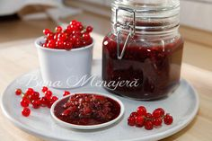 Sos chutney coacaze rosii | Buna Menajera Chutney, Panna Cotta, Raspberry, Fruit, Gallery, Link, Ethnic Recipes, Food, Dulce De Leche