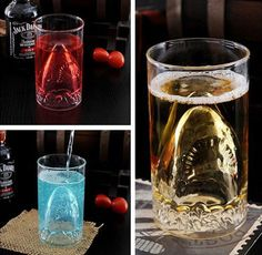 Shark Attack Shot Glass - Take My Paycheck - Shut up and take my money!   The coolest gadgets, electronics, geeky stuff, and more!