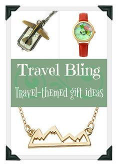You can't go wrong with jewelry that inspires wanderlust!