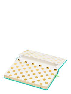 take note it's what's inside that counts large notebook - Kate Spade New York