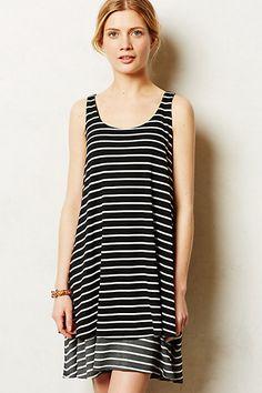 Striped Duet Dress #anthropologie #anthrofave