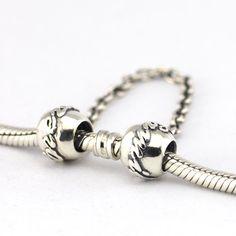 Compatibel met pandora armbanden sieraden 925 sterling zilveren kralen familie ties veiligheid chain authentieke originele charms pandulaso