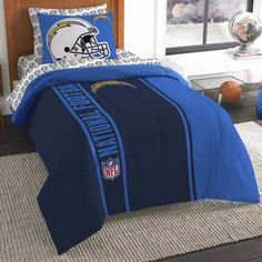 Northwest Co. NFL Chargers Comforter Set Size: Twin