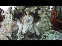 Tilda doll - Tildas Dolls: Dancer - Doll Tilda fabric (cloth) - Maria Adna Studio - YouTube