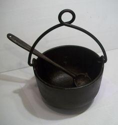 Antique Primitives for sale Lineman, Cauldron, Armenia, Kettle, Cast Iron, Primitive, Salt, Antiques, Phone
