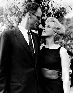 MM and Arthur Miller.