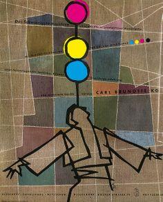 Zimmermann 1954 Brunotte Klischees Anzeige
