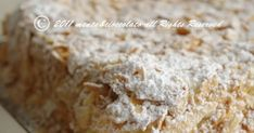 Torta Napoleone Krispie Treats, Rice Krispies, San Valentino, Biscotti, Muffin, Bread, Desserts, Home, Food Cakes