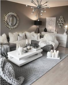 Interior Living Room Design Trends for 2019 - Interior Design Living Room Decor Cozy, Living Room Goals, Cute Room Decor, Formal Living Rooms, Home Living Room, Living Room Designs, Contemporary Living Room Decor Ideas, Loving Room Decor, Living Area